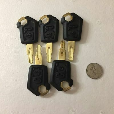 5 keys fits for 5p8500 For Caterpillar(CAT) BT 4-X-Heavy-Equipment-Ignition new