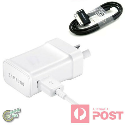 Original Genuine Samsung AC WALL CHARGER+Cable for Galaxy Tab 10.1 GT-P7510