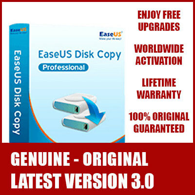 EaseUS Disk Copy Technician - Disk & Partition Clone - FREE Lifetime Upgrade