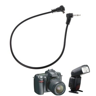 """PC Sync Cables 30cm 12'' 2.5mm 1/8"""" Cord Plug Jack for Male Flash Trigger Camera"""