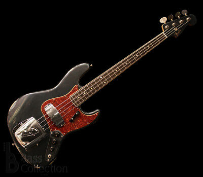 Fender CS: Electric Bass TBC 1966 Jazz Bass Relic Darker LPB-MH NEW