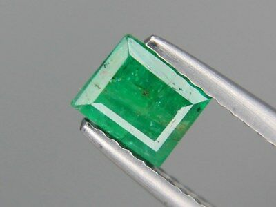 Natural Emerald 5x5.5mm 0.71ct Loose Natural Gemstone Pakistan Not Treated