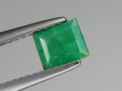 Natural Emerald 6x5mm 0.62ct Loose Natural Gemstone Pakistan Not Treated
