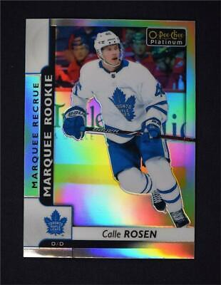 2017-18 O-Pee-Chee OPC Platinum Rainbow Marquee Rookie #168 Calle Rosen RC