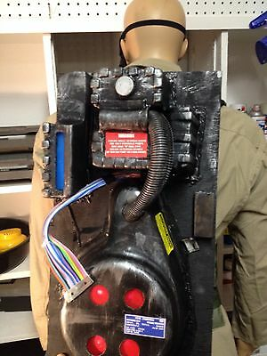 GHOSTBUSTERS FULL COSTUME Jump Suit PROTON PACK Ecto Goggles Ghost Trap cosplay