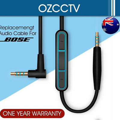 Cable Remote Mic For Bose QuietComfort QC25 QC35 Headphone Android Phone