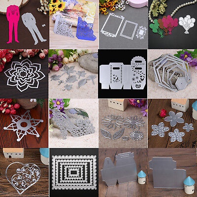 Metal Cutting Dies Stencil DIY Scrapbooking Embossing Paper Card Craft Die Cut