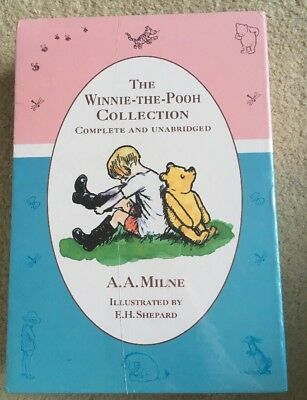 Winnie the Pooh Collection complete and unabridged by A A Milne - RRP £19.99