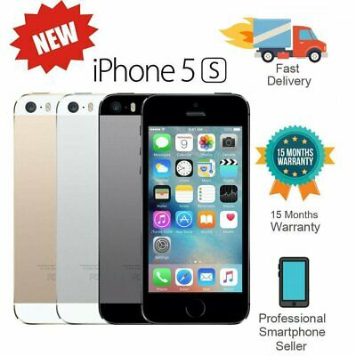 New Apple iPhone 5S 16GB 32GB 64GB Factory Unlocked Smartphone - Various AU