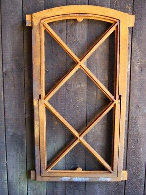 Iron Window Fold-Up, Standing fenster-wie Antique, gusseisen-stallfenster