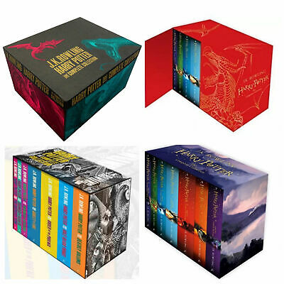 Harry Potter Books Series J.K.Rowling Collection Childrens Box Set Jody Revenson
