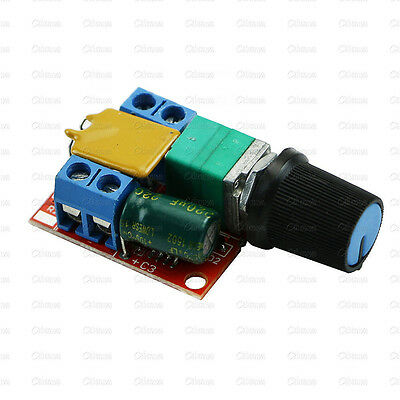 Replacement Ultra-small DC 3V - 35V PWM Mini Motor Speed Controller Switch 5A