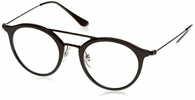 Ray-Ban 7112, Montature Unisex Adulto, Nero (Black), 53