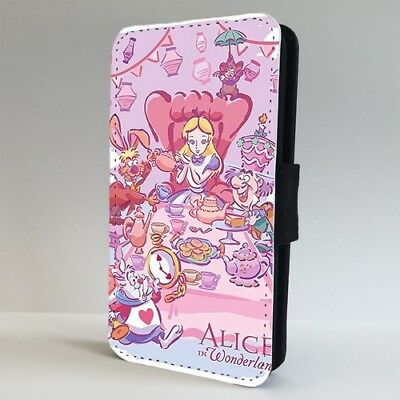 Alice In Wonderland Mad Hatter Party FLIP PHONE CASE COVER for IPHONE SAMSUNG