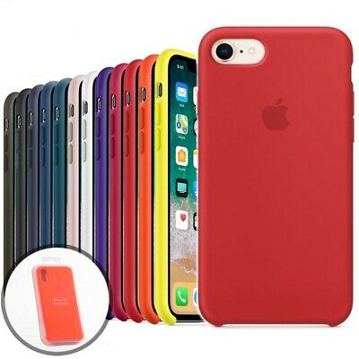 Original Silicone Cover Phone Case For iphone XS MAX XR 6s 7 8 plus 11 Pro Max