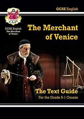 Grade 9-1 GCSE English Shakespeare Text Guide - The Merchant of Venice CGP GCSE