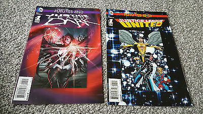 The New 52 Futures End: Justice League United #1 + Justice League Dark #1 (2014)