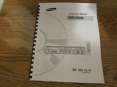 Samsung dvd-vr320 dvd/vcr combo player parts repair $37. 50.