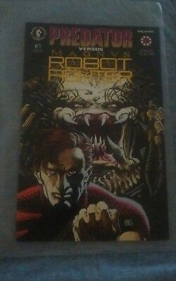 PREDATOR VERSUS MAGN VS ROBOT FIGHTER Comic Book #1 of 2 VG Dark Horse