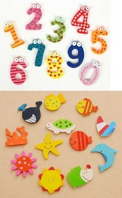 Kids Magnetic Wooden Number or Toy set for Children Preschool Educational