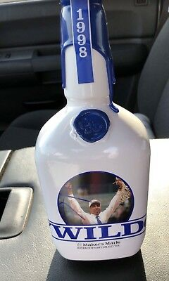 """New """"empty"""" sealed 2018 Makers Mark Tubby Smith Limited Edition Bottle"""