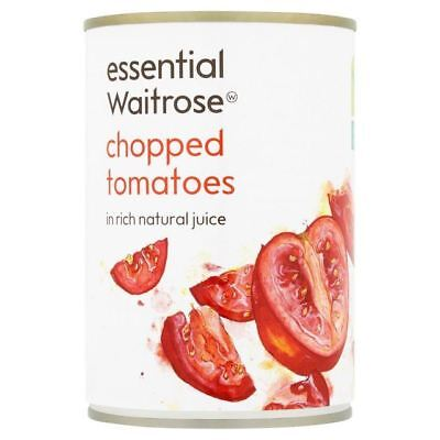Essential Waitrose Chopped Italian Tomatoes in Juice 400g