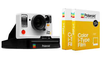 Polaroid Originals OneStep 2 Instant Camera - White with TWO I-TYPE FILMS