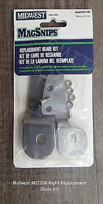 New Midwest Replacement Blades for M2110 Snips in USA [M2110R]