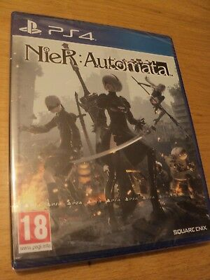 Nier Automata (Ps4) Brand New And Factory Sealed