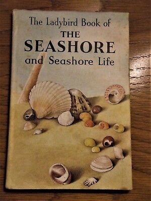 LADYBIRD THE-SEASHORE-AND-SEASHORE-LIFE-1st Edition with unclipped DJ