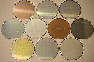 6 inch silicon wafer - Microscope Special: Ten Wafers for Twenty Five Dollars