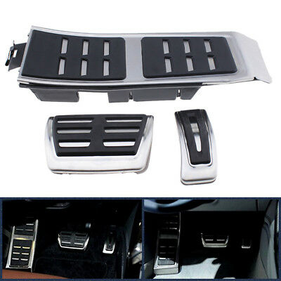 Plug&Play Gas Brake Foot Pedal Cover Set For AUDI A4 S4 A5 A6 S6 Q5 S5 RS5 A7