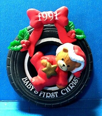 """Baby's First Christmas Ornament 1991  (NB)"