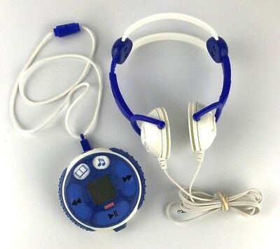 Fisher Price Kid-Tough FP3 Player BLUE 128mb Music and Stories Tested