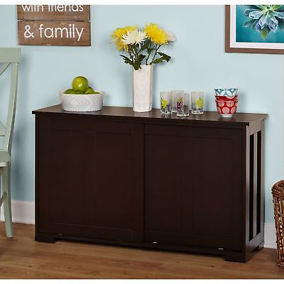 DINING ROOM Buffet Cabinet Storage Sideboard Kitchen Cupboard Table ...