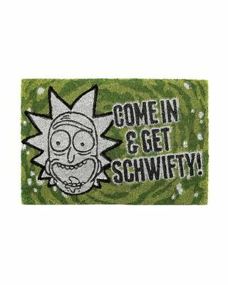 Official Rick and Morty Get Schwifty Door Mat