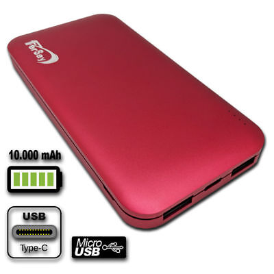 Drums external POWERBANK 10000 mah colour red Accessories Computer