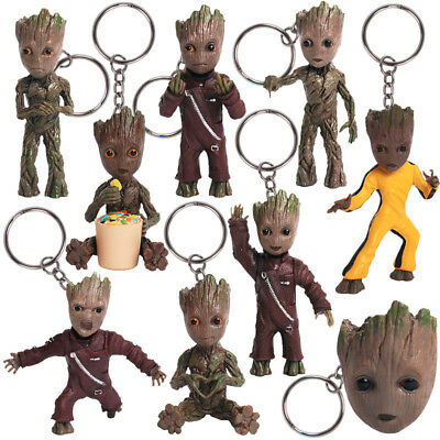 Guardians of The Galaxy Vol. 2 Baby Groot Figure  Cute Key chain Toy Xmas Gift