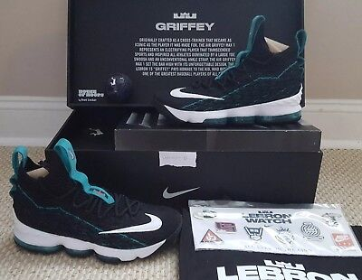 052405ae7c1 NIKE LEBRON 15 Griffey Size 10.5 DS with Special Wooden Box