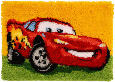 """Vervaco Knüpfteppichpackung """"Disney Lightning Mcqueen"""" PN-0014726"""