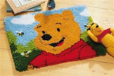 """Vervaco Knüpfteppichpackung """"Disney Winnie The Pooh"""" PN-0014722"""