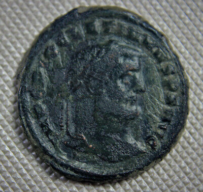 ROME 299 AD DIOCLETIAN Large follis 28 mm Genius reverse Roman Imperial A1s