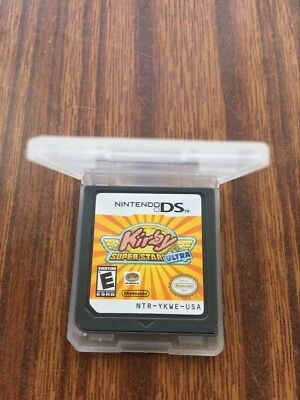 Kirby: Super Star Ultra (USA Version,English) Game Card for Nintendo nds Lite