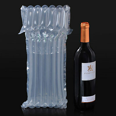 Inflatable Air Packaging Protective Bubble Packing Wrap Bag For Wine Bottle