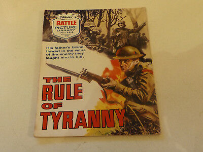 BATTLE PICTURE LIBRARY NO 144,dated 1964!,V GOOD FOR AGE,VERY RARE,54 yrs old.