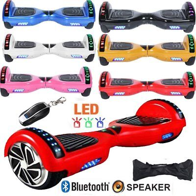 """8"""" Gyropode Hoverboard Self Balancing Scooter Electrique Smart Overboard Sac SU"""