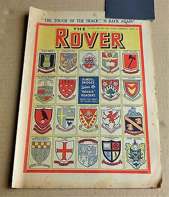"""VINTAGE D.C. THOMPSON  """"THE ROVER""""  COMIC #1331  DATED DECEMBER 30th 1950"""