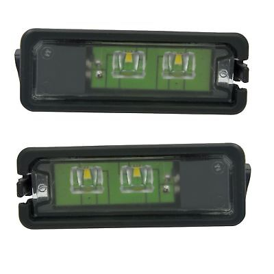 2 Eclairage Plaque Led Seat Leon 5F Apres 09/2012 Origine