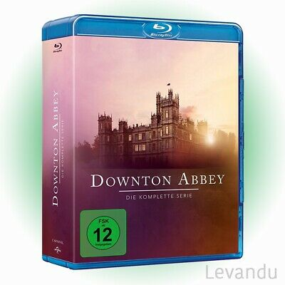 Blu-ray Box DOWNTON ABBEY - DIE KOMPLETTE SERIE (Staffel 1-6) - 21 Disc's