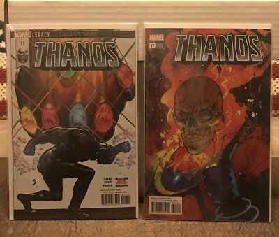 THANOS (2016) #17 SOLD OUT 1st Print + Christian Ward Cosmic Ghost Rider VARIANT